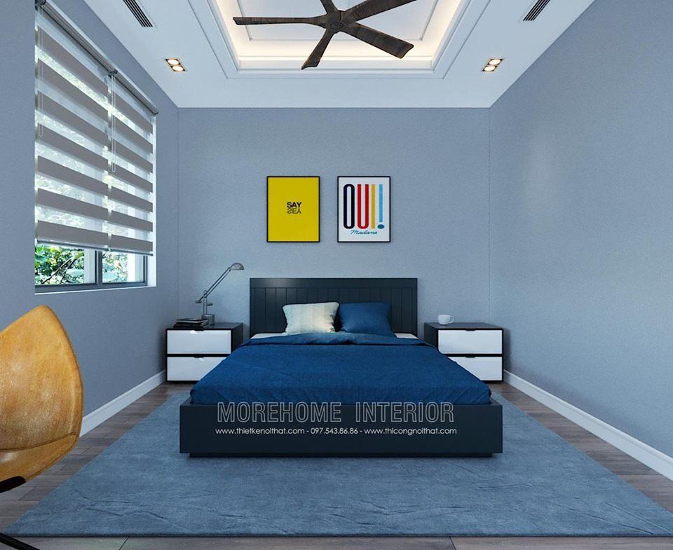 Thiết kế phòng ngủ bé trai cho biệt thự starlake tây hồ tây hà nội