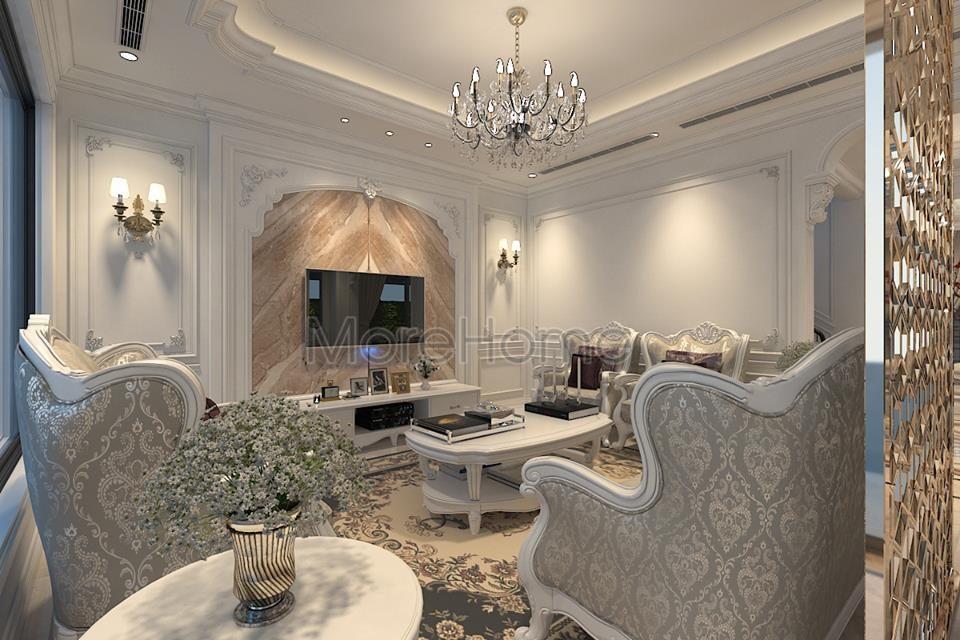 nội thất phòng khách biệt thự cao cấp Imperia Garden