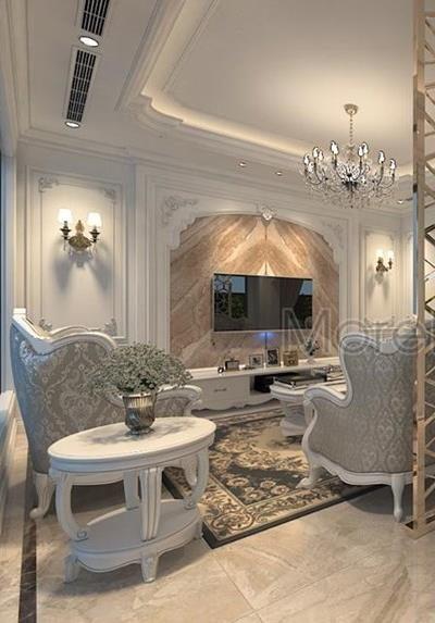 Thiết kế nội thất biệt thự tân cổ điển cao cấp tại Imperia Garden