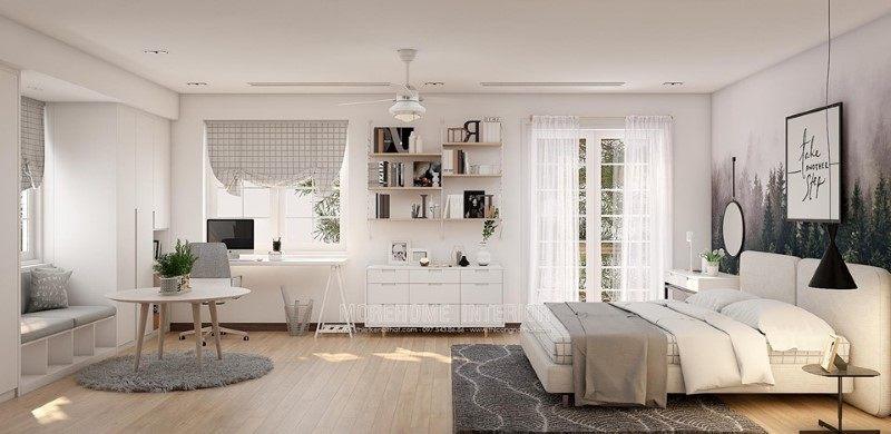 Thiết kế nội thất biệt thự Vinhomes Riverside Long Biên Hà Nội