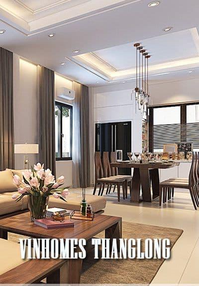 Thiết kế biệt thự hiện đại tại VinHome Thăng Long - Anh Hùng