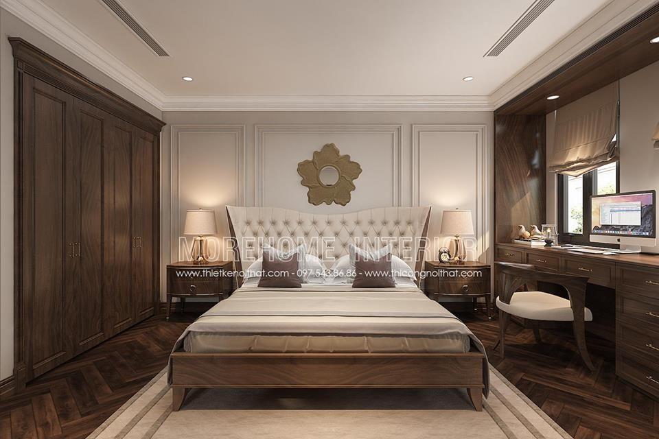 Thiết kế nội thất biệt thự vinhomes the harmony