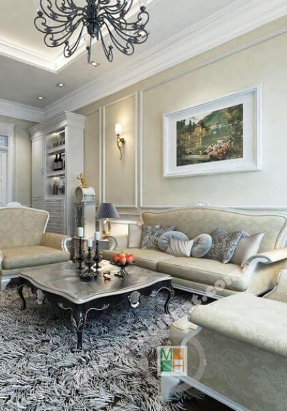 Thiết kế nội thất biệt thự Xuân Phương