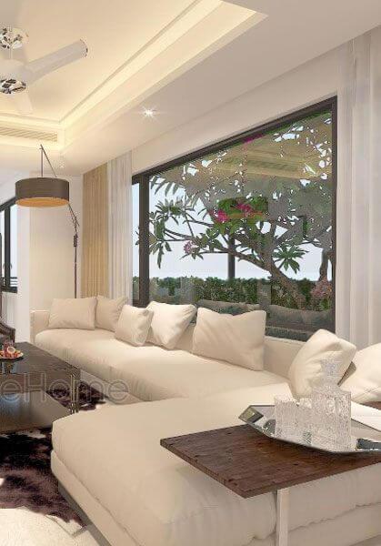 Thiết kế nội thất biệt thự liền kề Vinhomes Thăng Long hiện đại sang trọng- anh Giang