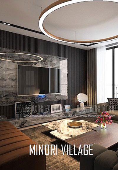 Thiết kế nội thất nhà cao cấp - Minori Village 67A Trương Định