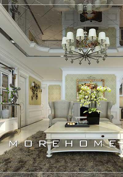 Tổng hợp 31 ý tưởng thiết kế phòng khách tân cổ điển đẹp, sang trọng, quý phái