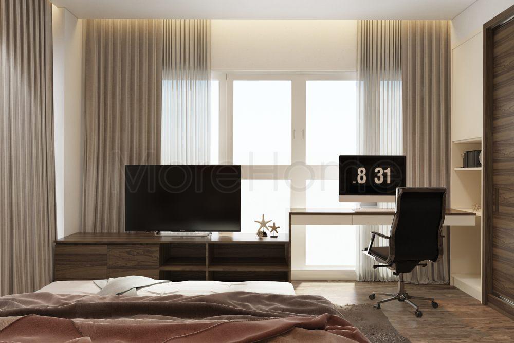 Thiết kế nội thất căn hộ happy valley