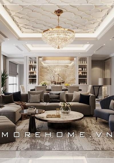 Thiết kế nội thất chung cư cao cấp tại Royal City - Anh Tuấn
