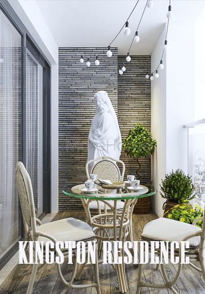 Thiết kế nội thất căn hộ chung cư Kingston Residence -  Cô Hồng