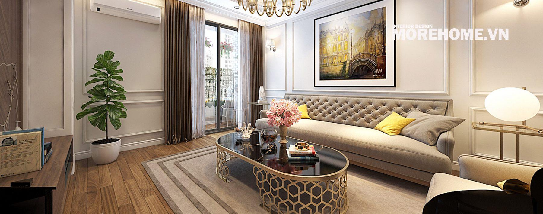 Thiết kế nội thất chung cư An Bình City Nam Từ Liêm Hà Nội