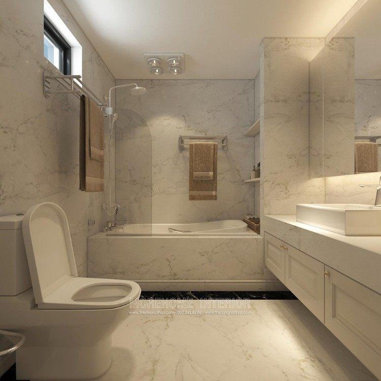 Thiết kế nội thất căn hộ cao cấp D'capitale