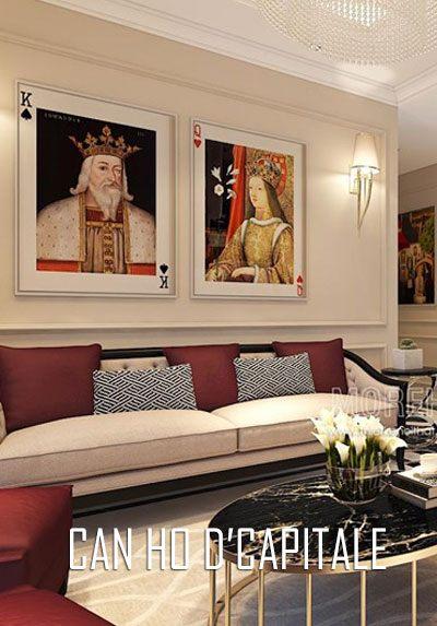 Thiết kế nội thất căn hộ cao cấp D'capitale tập đoàn Tân Hoàng Minh