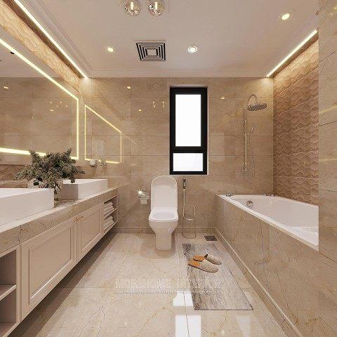 Thiết kế nội thất chung cư cao cấp D'Capital tân cổ điển