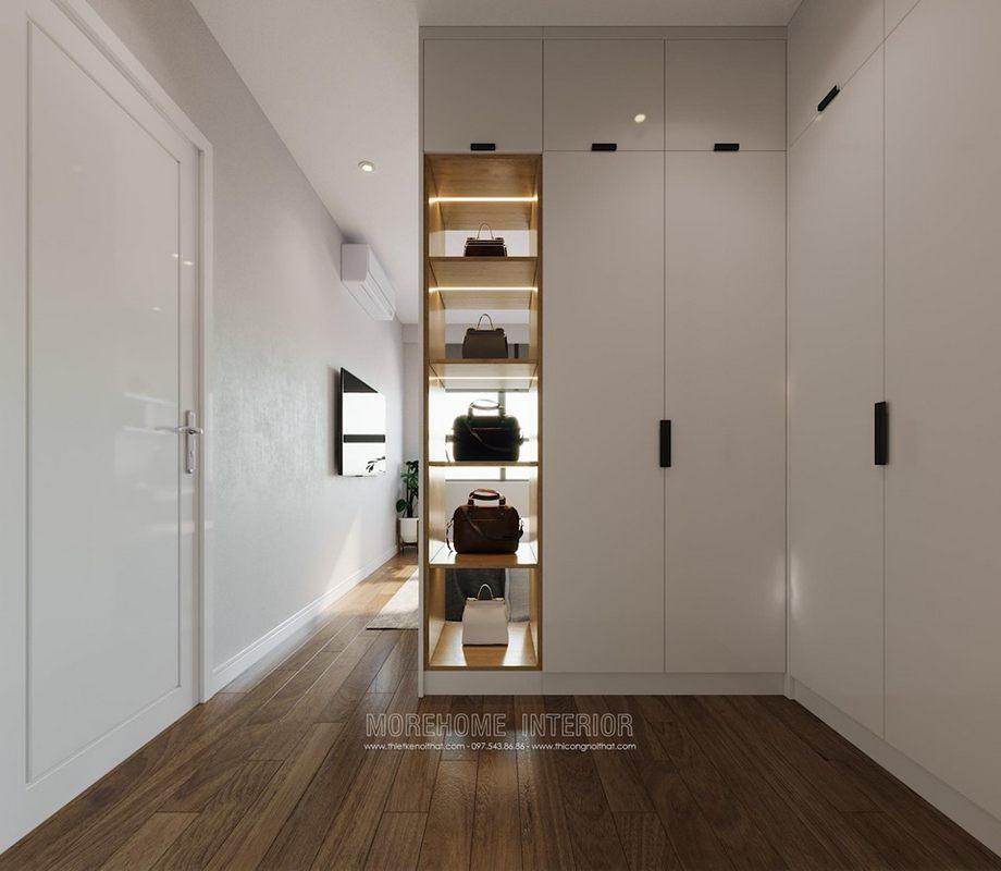Tủ quần áo gỗ công nghiệp tại chung cư D'capitale trần duy hưng