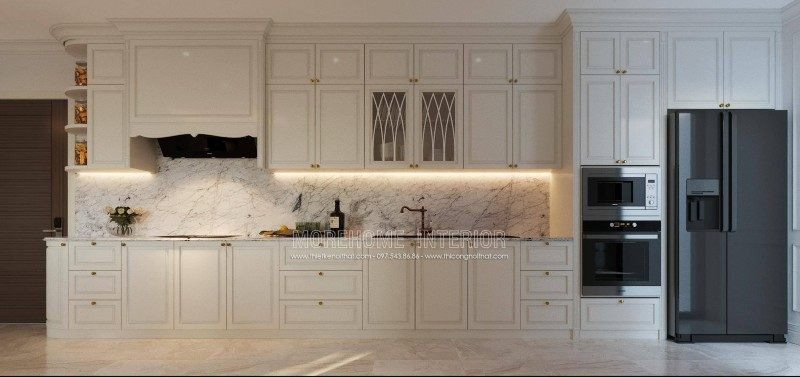 Thiết kế nội thất chung cư D'capitale