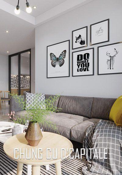 Thiết kế nội thất chung cư D'capitale phong cách hiện đại trẻ trung