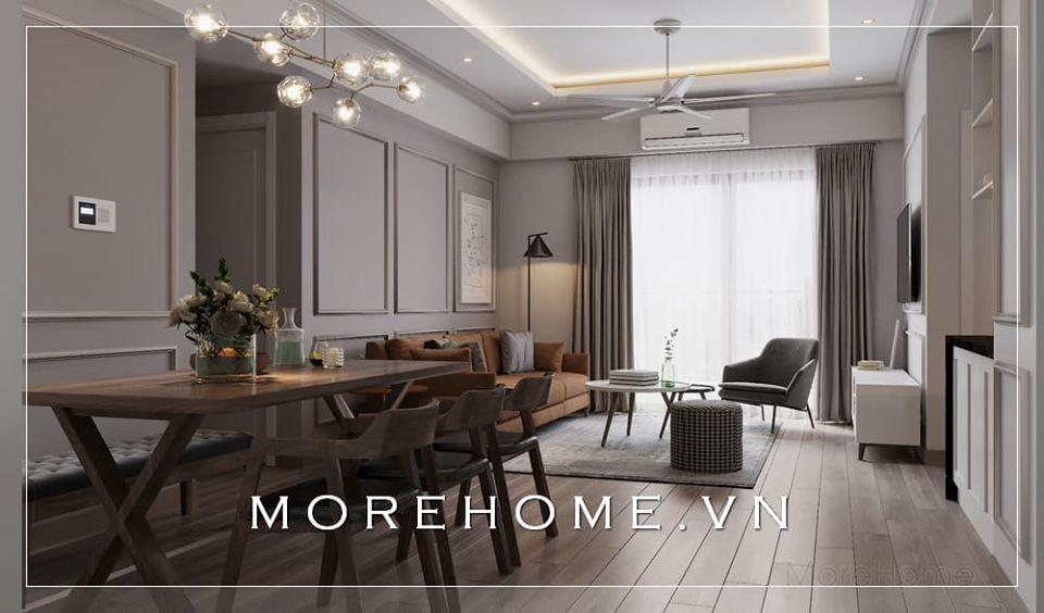 Thiết kế nội thất chung cư hiện đại đẹp