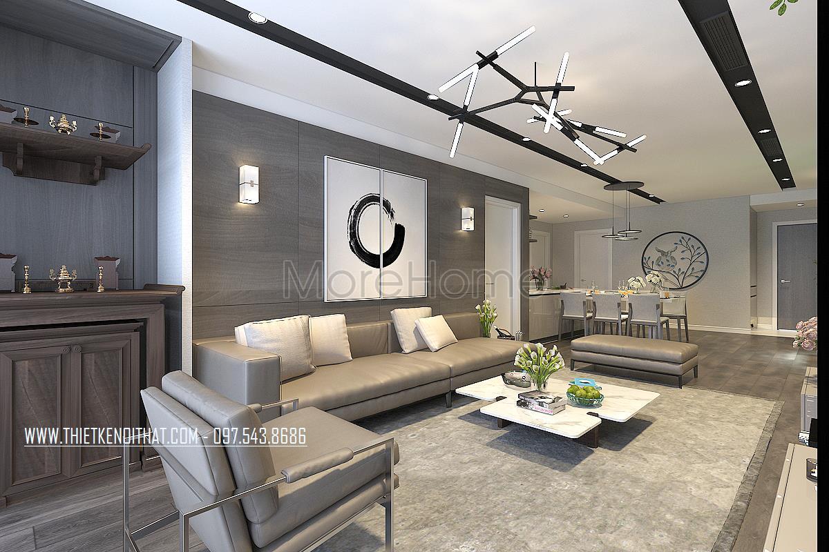 Thiết kế nội thất chung cư Discovery Complex