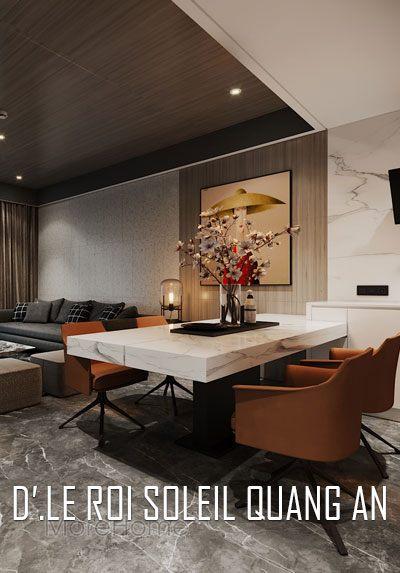 Thiết kế chung cư D'le Roi Soleil Tân Hoàng Minh vẻ đẹp đẳng cấp