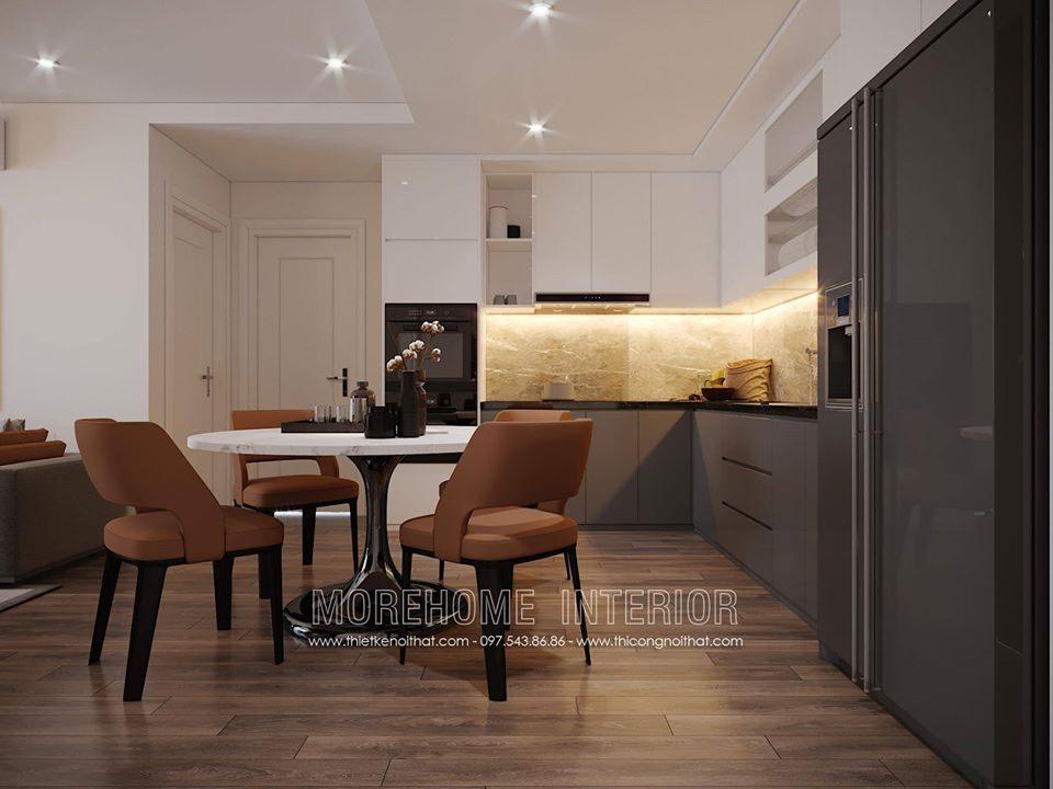 Thiết kế nội thất chung cư hiện đại Ecolife Capitol