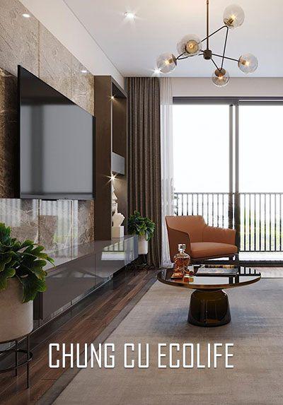 Thiết kế nội thất chung cư hiện đại Ecolife Capitol 58 Tố Hữu