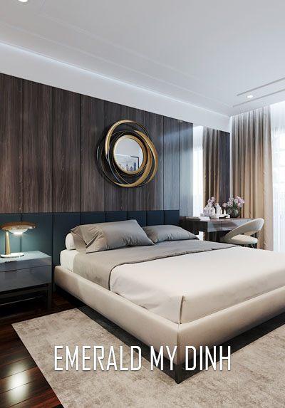 Thiết kế nội thất chung cư Emerald Mỹ Đình phong cách tân cổ điển