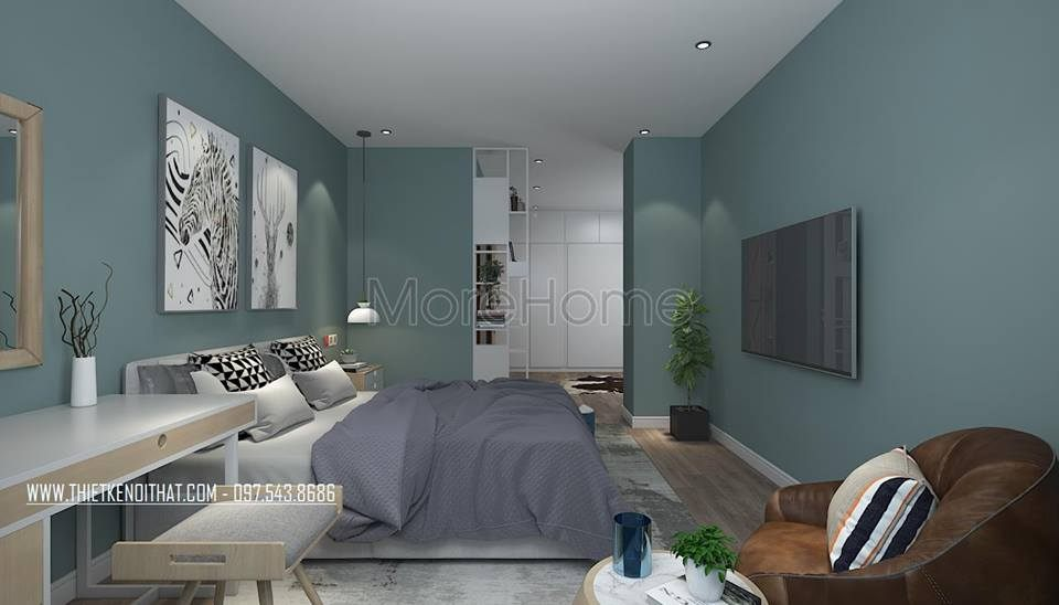 Thiết kế nội thất chung cư Goldmark City