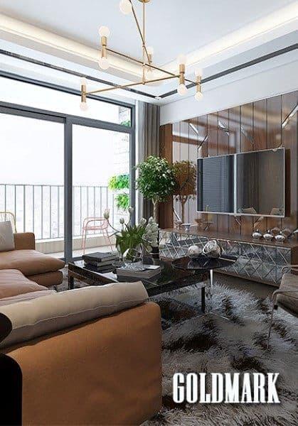 Thiết kế nội thất chung cư GoldMark City - Anh Linh
