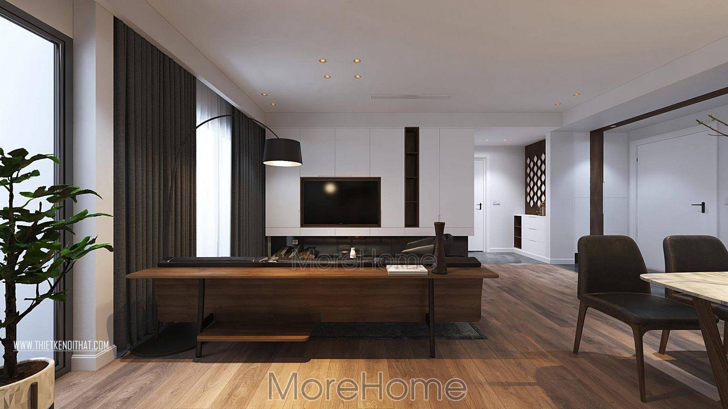 Thiết kế nội thất chung cư greenbay nam từ liêm hà nội