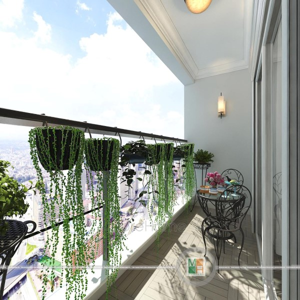 Thiết kế căn hộ Penthouse tân cổ điển Imperia Garden
