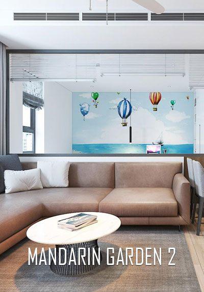 Thiết kế nội thất chung cư Mandarin Garden 2 đẹp, sang - anh Thành