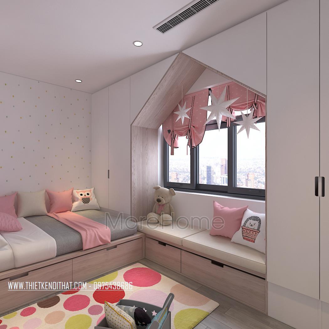 Thiết kế nội thất chung cư Mon City Mỹ Đình
