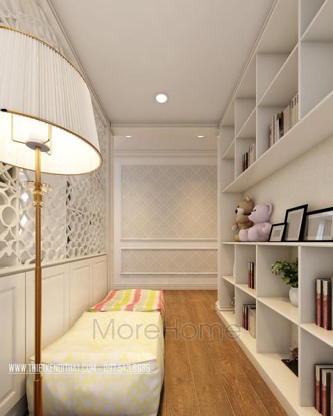 Mẫu thiết kế căn hộ Times City Park Hill Tân cổ điển