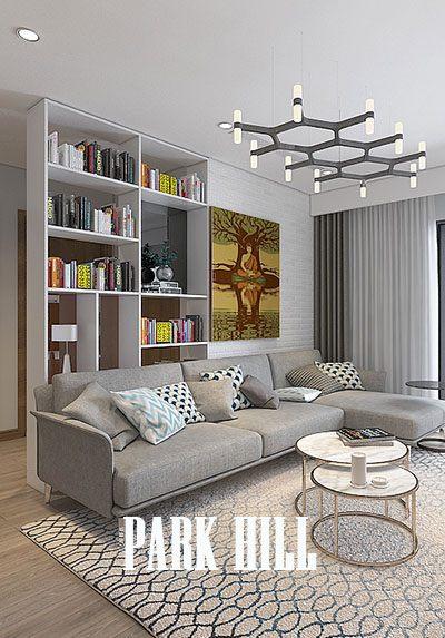 Thiết kế nội thất chung cư hiện đại ParkHill