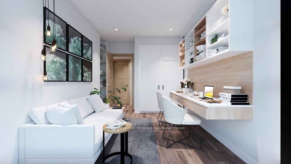 Sofa chung cư hiện đại vinhomes skylake phạm hùng