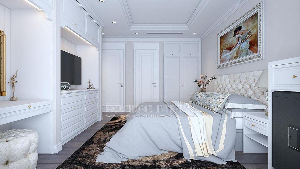 Thiết kế nội thất chung cư Times City tân cổ điển