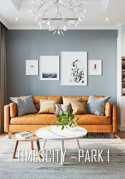 Thiết kế nội thất chung cư Times City Park 1 hiện đại, trẻ trung