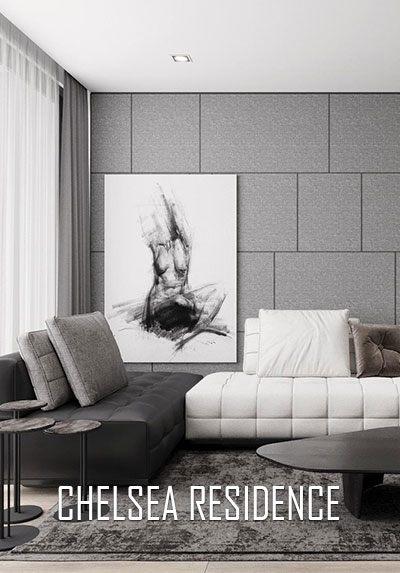 Thiết kế nội thất chung cư Chelsea Residences hiện đại độc đáo