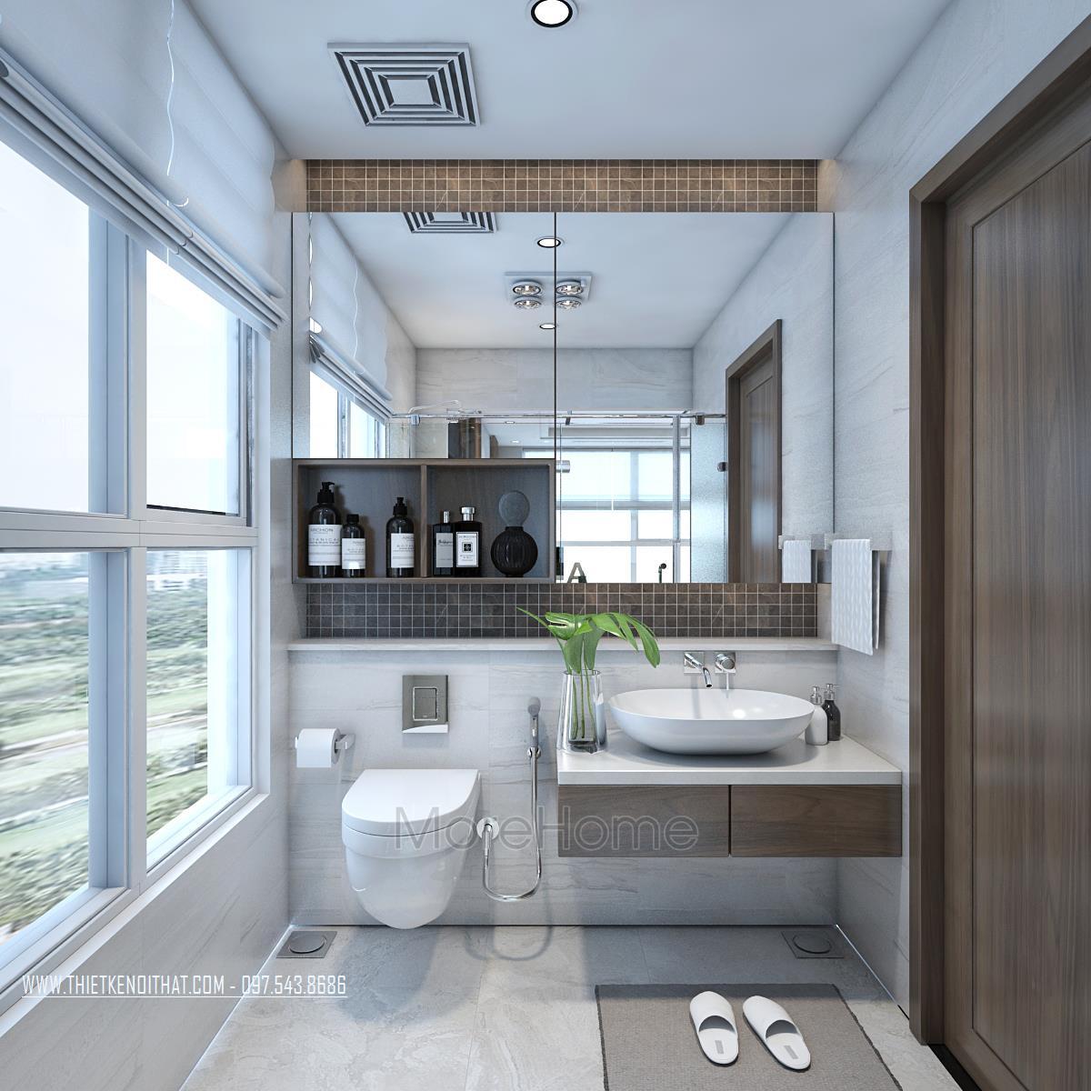 Thiết kế nội thất chung cư Vinhome Gardenia
