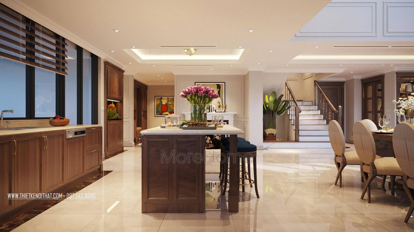 Thiết kế nội thất căn hộ duplex thanh xuân hà nội