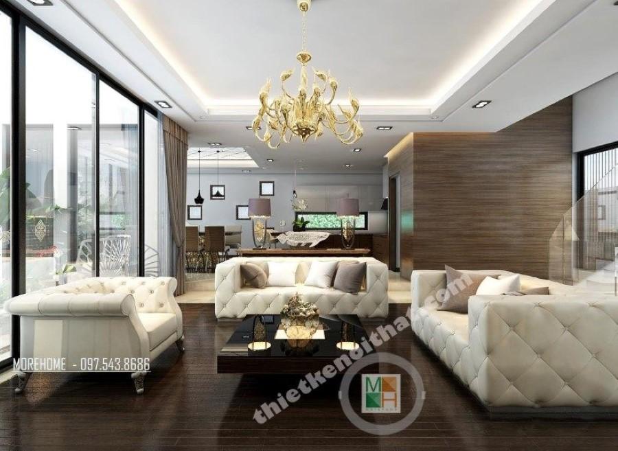 Thiết kế nội thất gỗ óc chó cao cấp
