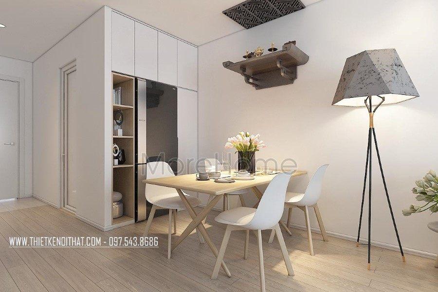 Thiết kế nội thất chung cư Green Star hiện đại