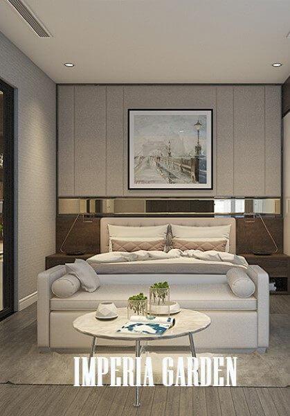 Thiết kế nội thất căn hộ chung cư Imperia - Anh Nam