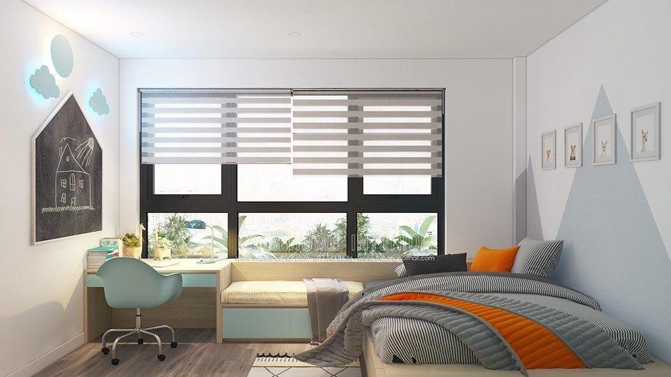 Thiết kế nội thất phòng ngủ đẹp tại Minori Village 67a trương định hai bà trưng hà nội