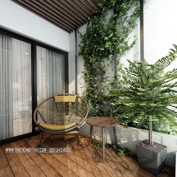 Thiết kế nội thất chung cư Mipec hiện đại