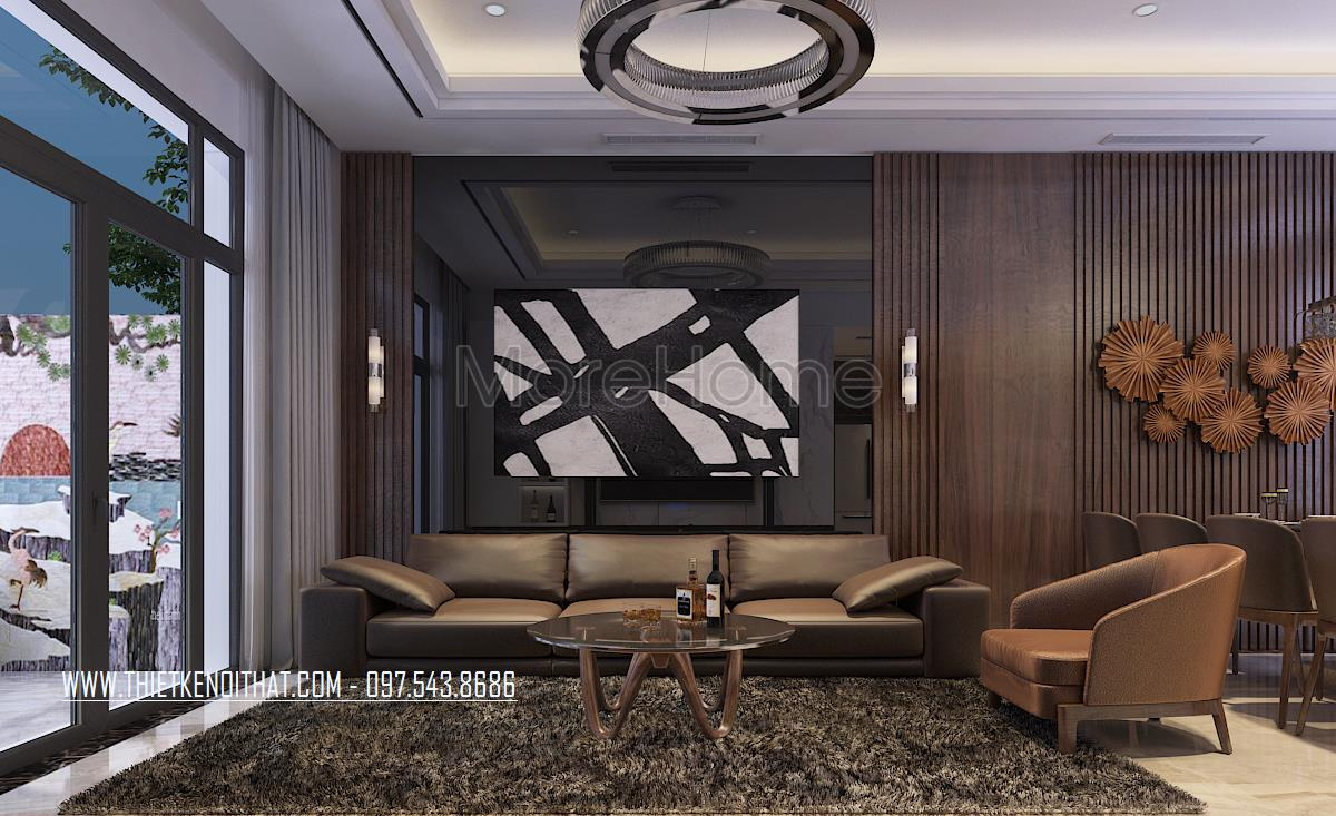 Thiết kế nội thất nhà liền kề Đại Kim
