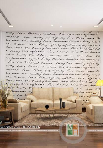 Thiết kế nội thất nhà liền kề phong cách hiện đại, trẻ trung - Mr Thắng