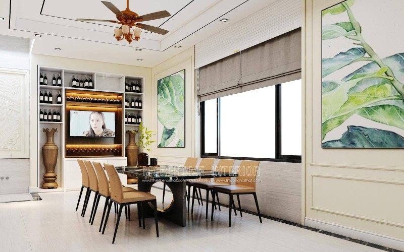 Thiết kế nội thất nhà lô Hải Phòng