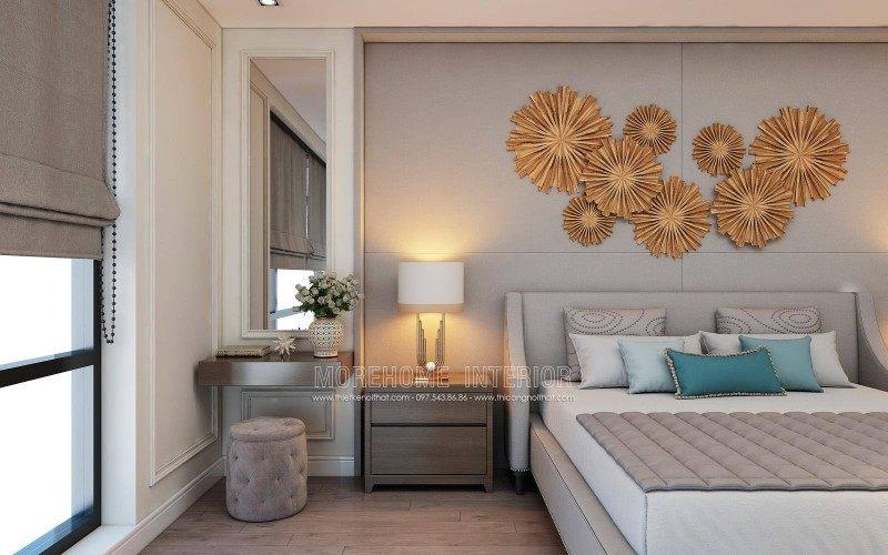 Thiết kế nội thất phòng ngủ cho nhà lô tại quận hồng bàng hải phòng