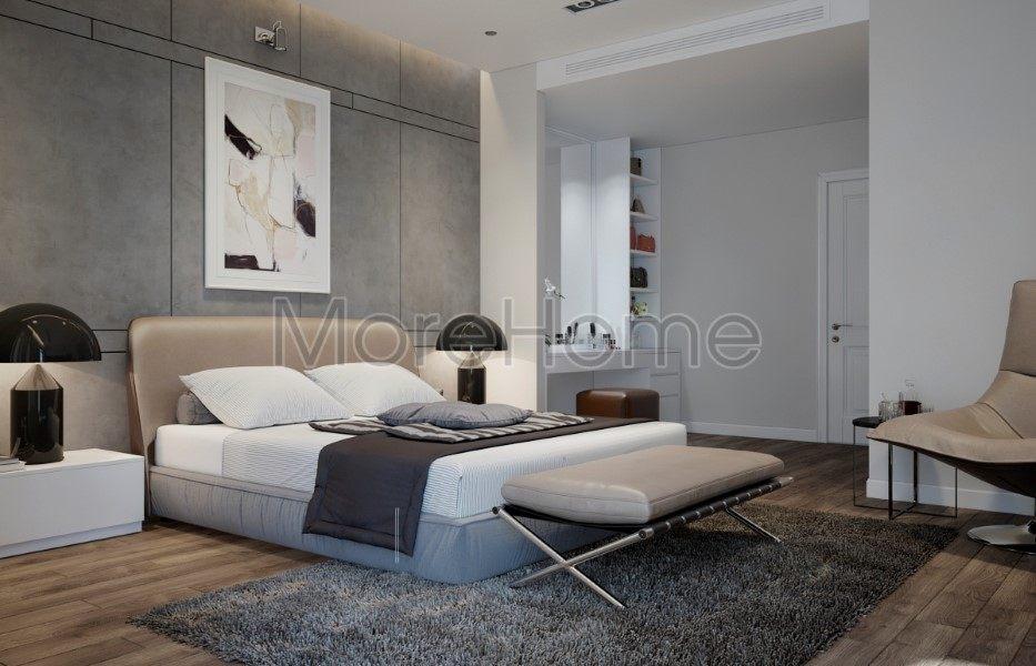 Thiết kế nội thất nhà phố Lake View phong cách hiện đại